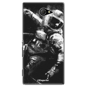 Plastové pouzdro iSaprio Astronaut 02 na mobil Sony Xperia M2