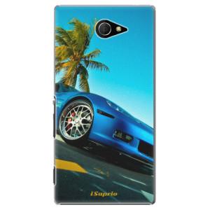 Plastové pouzdro iSaprio Car 10 na mobil Sony Xperia M2