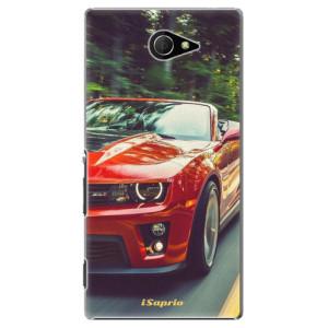 Plastové pouzdro iSaprio Chevrolet 02 na mobil Sony Xperia M2