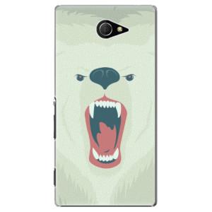 Plastové pouzdro iSaprio Angry Bear na mobil Sony Xperia M2