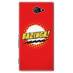 Plastové pouzdro iSaprio Bazinga 01 na mobil Sony Xperia M2