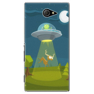 Plastové pouzdro iSaprio Alien 01 na mobil Sony Xperia M2