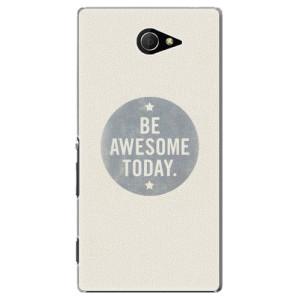 Plastové pouzdro iSaprio Awesome 02 na mobil Sony Xperia M2
