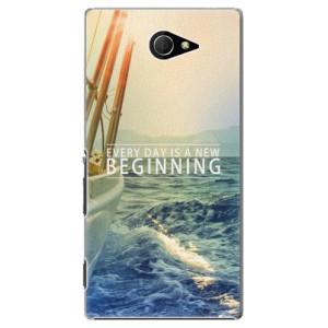 Plastové pouzdro iSaprio Beginning na mobil Sony Xperia M2
