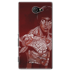 Plastové pouzdro iSaprio Bruce Lee na mobil Sony Xperia M2