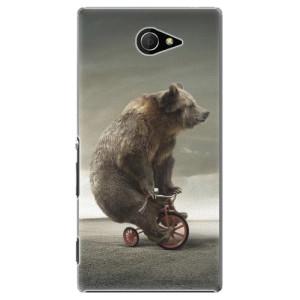 Plastové pouzdro iSaprio Bear 01 na mobil Sony Xperia M2