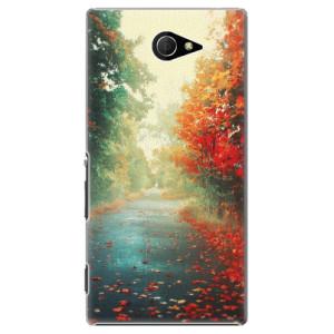 Plastové pouzdro iSaprio Autumn 03 na mobil Sony Xperia M2
