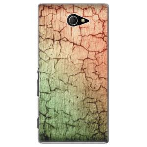 Plastové pouzdro iSaprio Cracked Wall 01 na mobil Sony Xperia M2