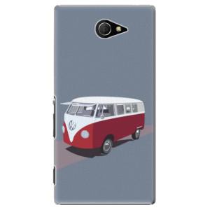 Plastové pouzdro iSaprio VW Bus na mobil Sony Xperia M2