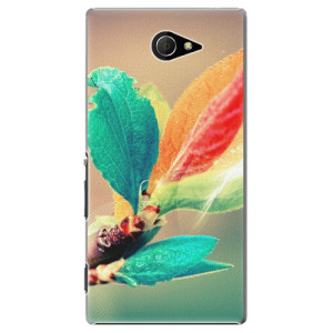 Plastové pouzdro iSaprio Autumn 02 na mobil Sony Xperia M2