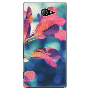 Plastové pouzdro iSaprio Autumn 01 na mobil Sony Xperia M2