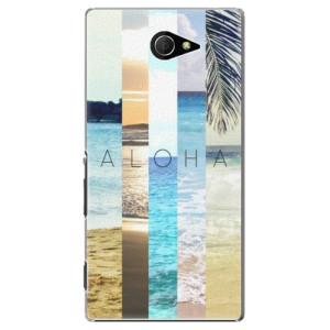 Plastové pouzdro iSaprio Aloha 02 na mobil Sony Xperia M2