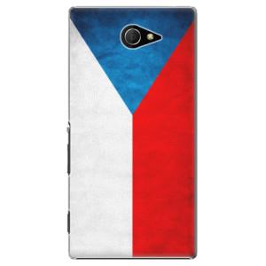 Plastové pouzdro iSaprio Czech Flag na mobil Sony Xperia M2