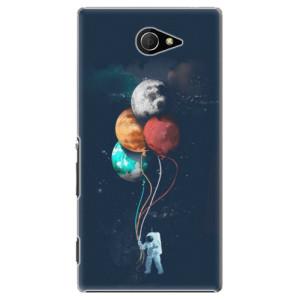 Plastové pouzdro iSaprio Balloons 02 na mobil Sony Xperia M2