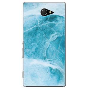 Plastové pouzdro iSaprio Blue Marble na mobil Sony Xperia M2