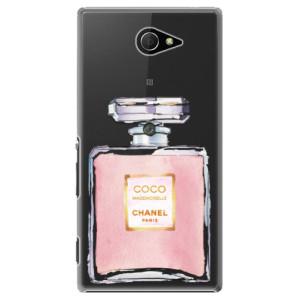 Plastové pouzdro iSaprio Chanel Rose na mobil Sony Xperia M2