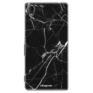 Plastové pouzdro iSaprio Black Marble 18 na mobil Sony Xperia M4