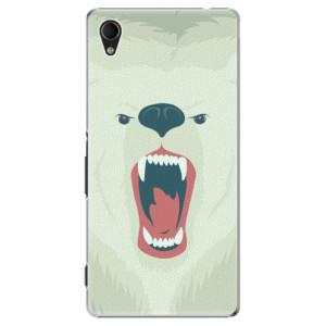 Plastové pouzdro iSaprio Angry Bear na mobil Sony Xperia M4