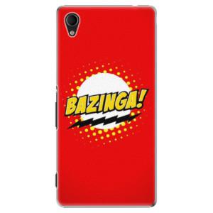 Plastové pouzdro iSaprio Bazinga 01 na mobil Sony Xperia M4