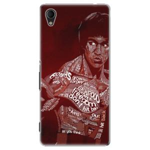 Plastové pouzdro iSaprio Bruce Lee na mobil Sony Xperia M4