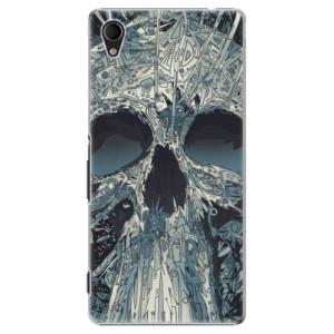 Plastové pouzdro iSaprio Abstract Skull na mobil Sony Xperia M4