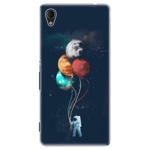 Plastové pouzdro iSaprio Balloons 02 na mobil Sony Xperia M4