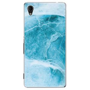 Plastové pouzdro iSaprio Blue Marble na mobil Sony Xperia M4