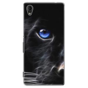 Plastové pouzdro iSaprio Black Puma na mobil Sony Xperia M4