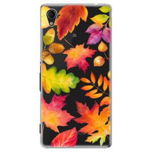 Plastové pouzdro iSaprio Autumn Leaves 01 na mobil Sony Xperia M4
