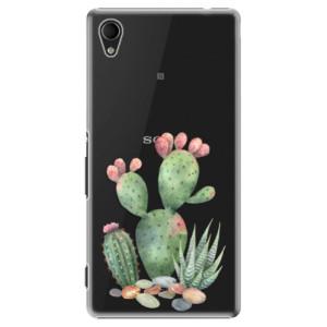 Plastové pouzdro iSaprio Cacti 01 na mobil Sony Xperia M4