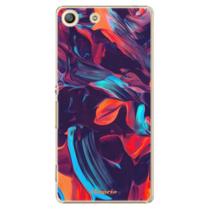 Plastové pouzdro iSaprio Color Marble 19 na mobil Sony Xperia M5