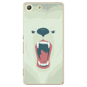 Plastové pouzdro iSaprio Angry Bear na mobil Sony Xperia M5