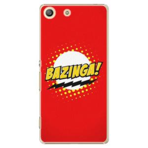 Plastové pouzdro iSaprio Bazinga 01 na mobil Sony Xperia M5