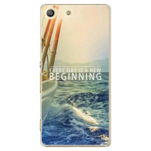 Plastové pouzdro iSaprio Beginning na mobil Sony Xperia M5