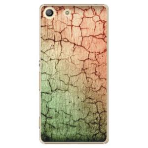 Plastové pouzdro iSaprio Cracked Wall 01 na mobil Sony Xperia M5