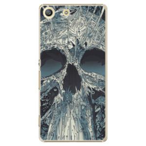 Plastové pouzdro iSaprio Abstract Skull na mobil Sony Xperia M5