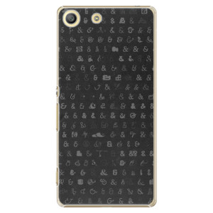 Plastové pouzdro iSaprio Ampersand 01 na mobil Sony Xperia M5