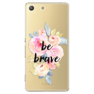 Plastové pouzdro iSaprio Be Brave na mobil Sony Xperia M5