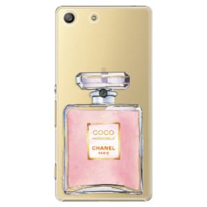 Plastové pouzdro iSaprio Chanel Rose na mobil Sony Xperia M5