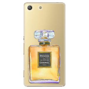 Plastové pouzdro iSaprio Chanel Gold na mobil Sony Xperia M5