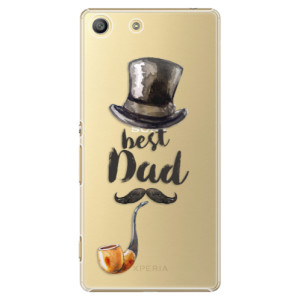 Plastové pouzdro iSaprio Best Dad na mobil Sony Xperia M5