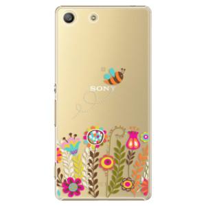Plastové pouzdro iSaprio Bee 01 na mobil Sony Xperia M5