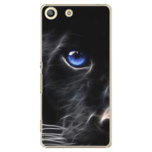 Plastové pouzdro iSaprio Black Puma na mobil Sony Xperia M5
