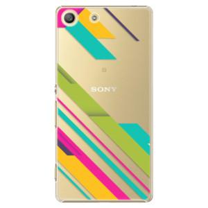 Plastové pouzdro iSaprio Color Stripes 03 na mobil Sony Xperia M5