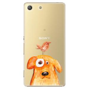 Plastové pouzdro iSaprio Dog And Bird na mobil Sony Xperia M5