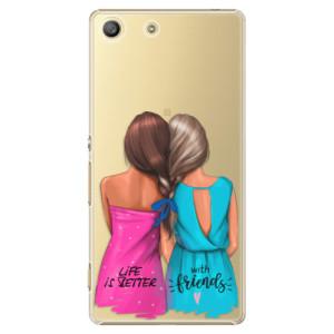 Plastové pouzdro iSaprio Best Friends na mobil Sony Xperia M5