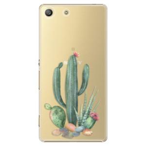 Plastové pouzdro iSaprio Cacti 02 na mobil Sony Xperia M5