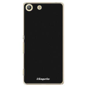 Plastové pouzdro iSaprio 4Pure černé na mobil Sony Xperia M5