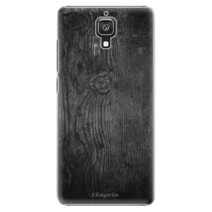 Plastové pouzdro iSaprio Black Wood 13 na mobil Xiaomi Mi4