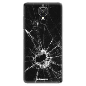 Plastové pouzdro iSaprio Broken Glass 10 na mobil Xiaomi Mi4